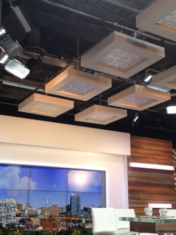 Cool ceiling!
